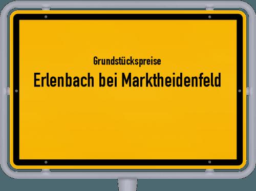 Grundstückspreise Erlenbach bei Marktheidenfeld 2019