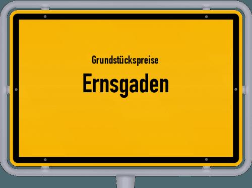 Grundstückspreise Ernsgaden 2019