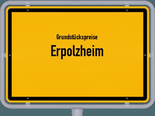 Grundstückspreise Erpolzheim 2019