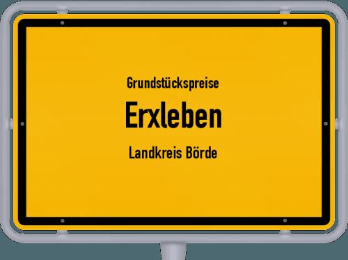 Grundstückspreise Erxleben (Landkreis Börde) 2021