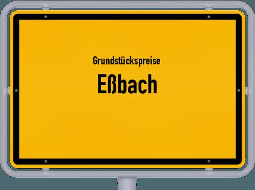 Grundstückspreise Eßbach 2019
