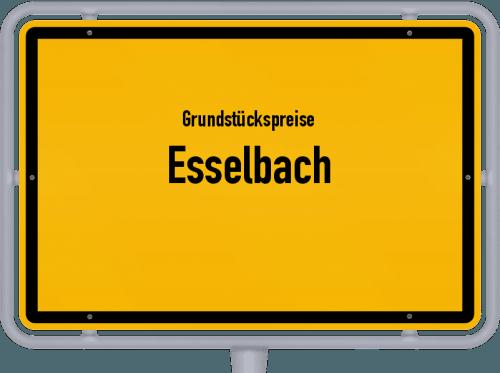 Grundstückspreise Esselbach 2019