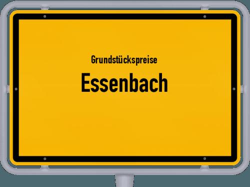 Grundstückspreise Essenbach 2021