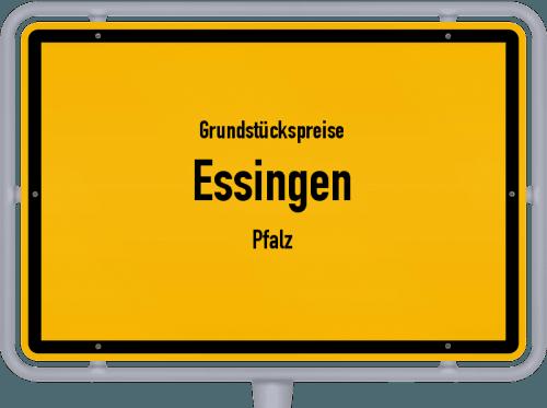 Grundstückspreise Essingen (Pfalz) 2019