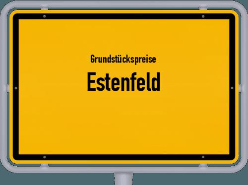 Grundstückspreise Estenfeld 2021