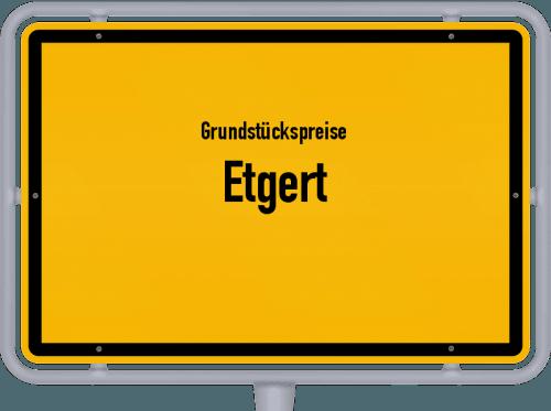 Grundstückspreise Etgert 2019