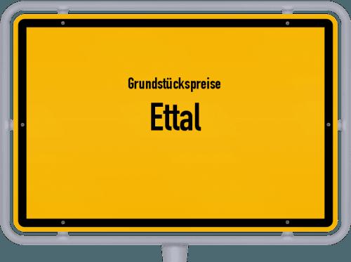 Grundstückspreise Ettal 2019