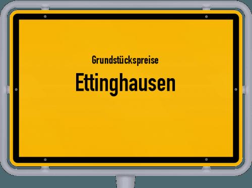 Grundstückspreise Ettinghausen 2019