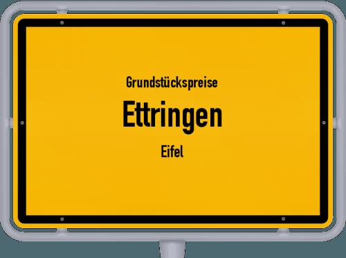 Grundstückspreise Ettringen (Eifel) 2019