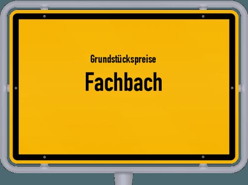 Grundstückspreise Fachbach 2019