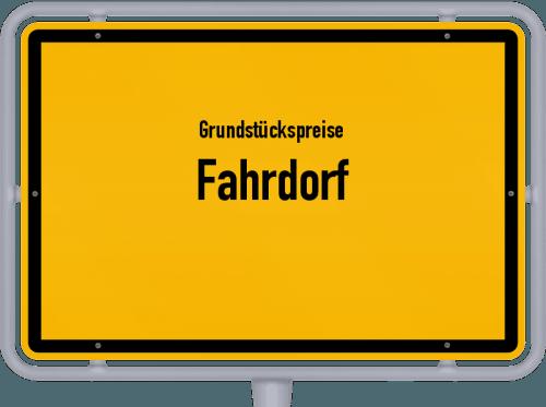 Grundstückspreise Fahrdorf 2021