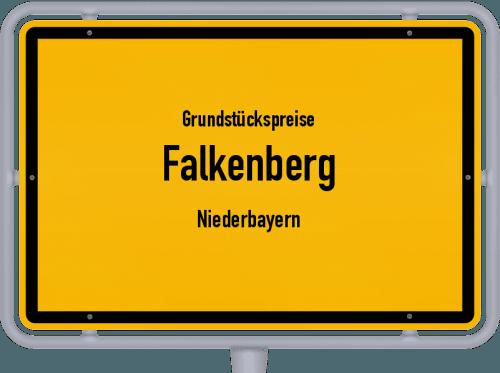 Grundstückspreise Falkenberg (Niederbayern) 2019
