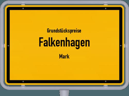 Grundstückspreise Falkenhagen (Mark) 2021