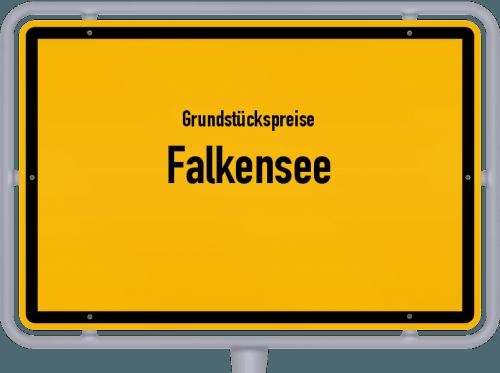 Grundstückspreise Falkensee 2018