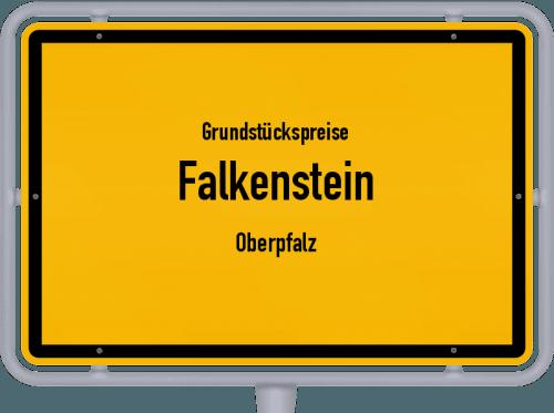 Grundstückspreise Falkenstein (Oberpfalz) 2019