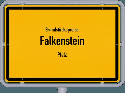 Grundstückspreise Falkenstein (Pfalz) 2019
