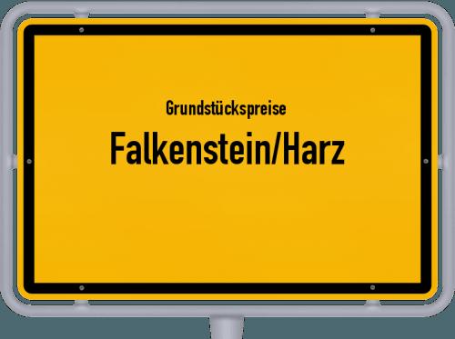 Grundstückspreise Falkenstein/Harz 2021