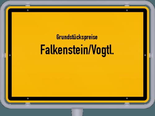 Grundstückspreise Falkenstein/Vogtl. 2019