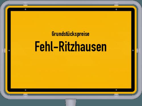 Grundstückspreise Fehl-Ritzhausen 2019
