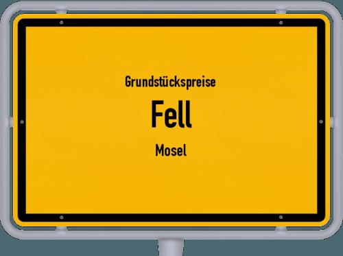 Grundstückspreise Fell (Mosel) 2019