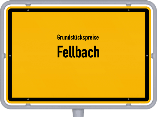 Grundstückspreise Fellbach 2020