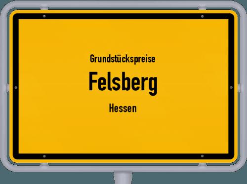Grundstückspreise Felsberg (Hessen) 2018