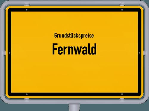 Grundstückspreise Fernwald 2018
