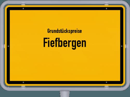 Grundstückspreise Fiefbergen 2021