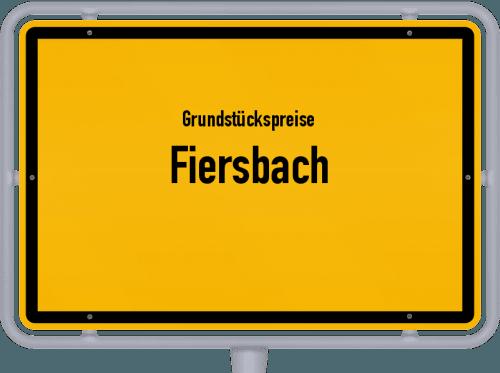 Grundstückspreise Fiersbach 2019