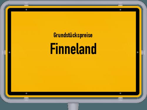 Grundstückspreise Finneland 2021