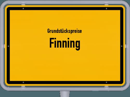 Grundstückspreise Finning 2019