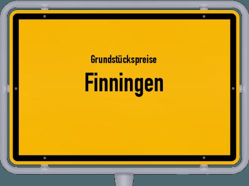 Grundstückspreise Finningen 2019