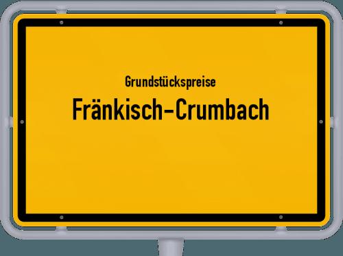 Grundstückspreise Fränkisch-Crumbach 2019