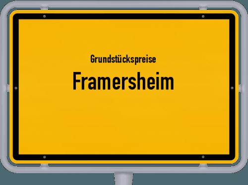 Grundstückspreise Framersheim 2019