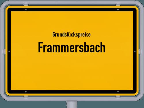Grundstückspreise Frammersbach 2021