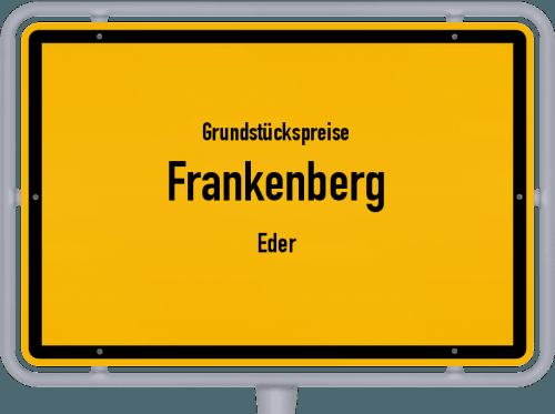 Grundstückspreise Frankenberg (Eder) 2019