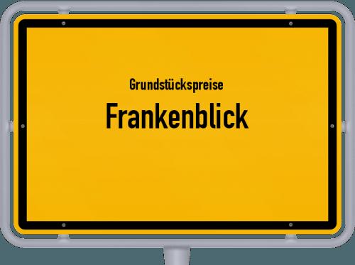 Grundstückspreise Frankenblick 2019
