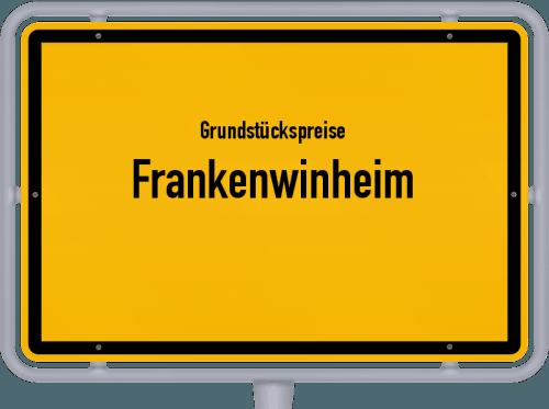 Grundstückspreise Frankenwinheim 2019