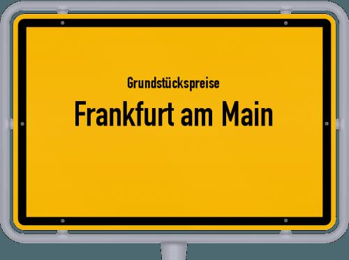 Grundstückspreise Frankfurt am Main 2017