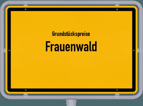 Grundstückspreise Frauenwald 2019