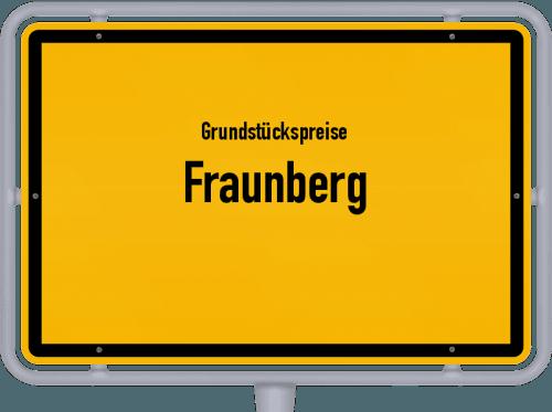 Grundstückspreise Fraunberg 2019
