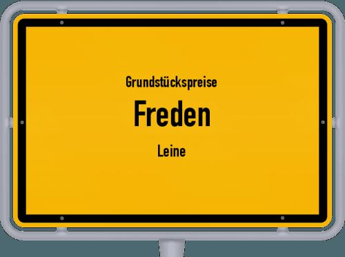 Grundstückspreise Freden (Leine) 2021