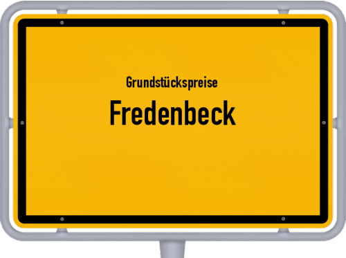 Grundstückspreise Fredenbeck 2021