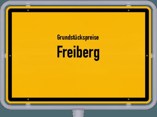 Grundstückspreise Freiberg 2019