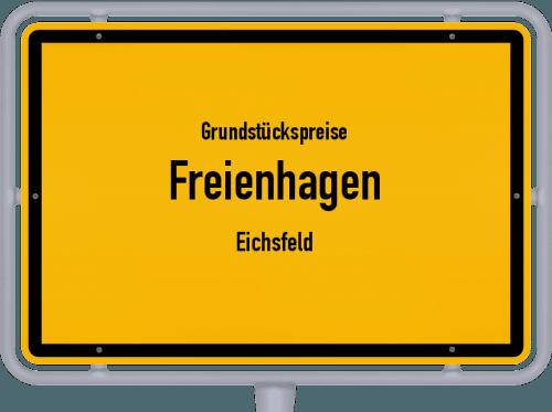 Grundstückspreise Freienhagen (Eichsfeld) 2019