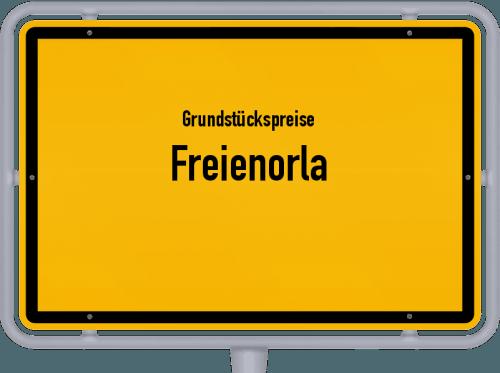 Grundstückspreise Freienorla 2019