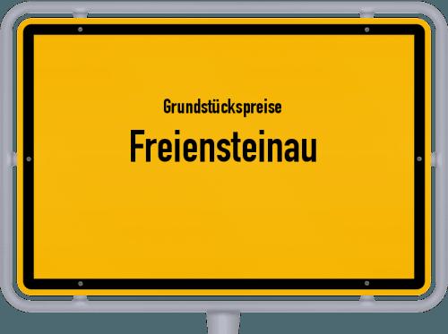 Grundstückspreise Freiensteinau 2018