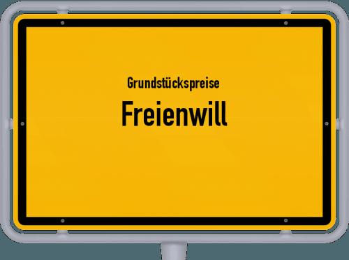 Grundstückspreise Freienwill 2021