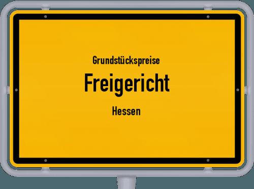 Grundstückspreise Freigericht (Hessen) 2018