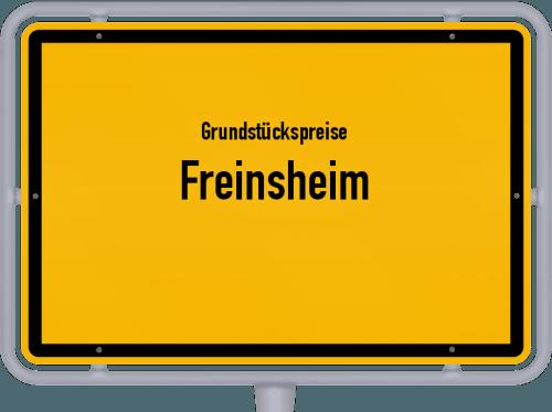 Grundstückspreise Freinsheim 2019